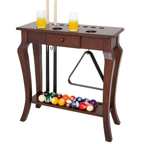 everett espresso traditional floating desk hathaway games deluxe floor cue rack indoor