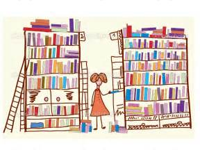 Art Library Cartoon