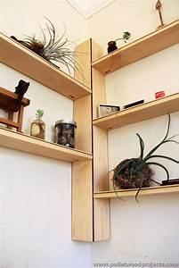 Pallet Corner Shelf Plans Pallet Wood Projects