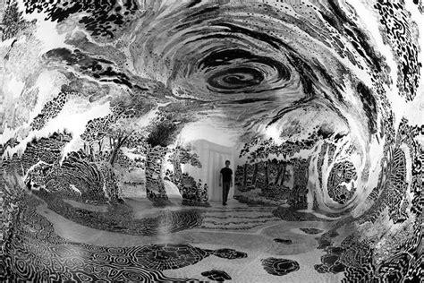 immersive installation art fills dome   degree