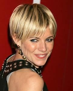 Coiffure Blonde Courte : coiffure courte glamour ~ Melissatoandfro.com Idées de Décoration