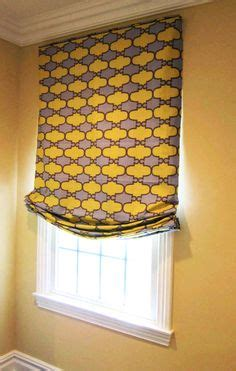 custom relaxed roman shade  center pleat tails