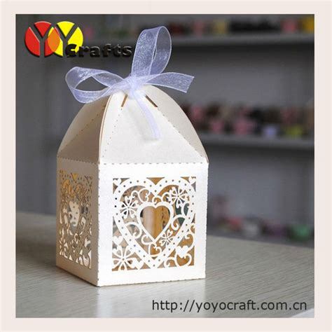pcslot wedding souvenirs elephant gift box laser cut