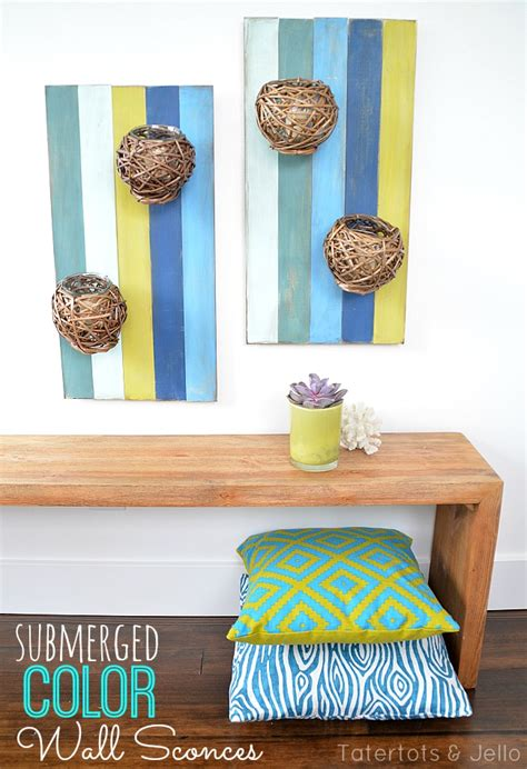 outdoor wall sconce pallet art