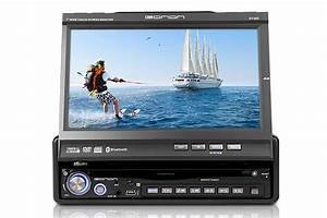 D1303 7 Inch Digital Touch Screen 1 Din Car Dvd   V0007