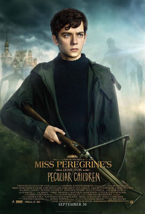 Miss Peregrine S Home For Peculiar Children by Miss Peregrine S Home For Peculiar Children 2016 Poster