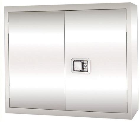 stainless steel wall cabinets kitchen sandusky stainless steel wall cabinet w paddle lock 8301