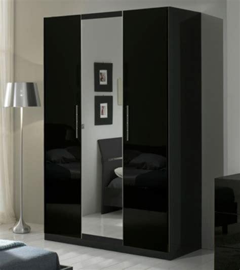 armoire chambre 4 portes armoire 3 portes gloria noir