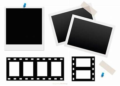 Polaroid Frame Frames Negative Illustrations Vector Clipart