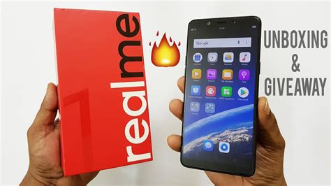 oppo realme 1 unboxing and giveaway