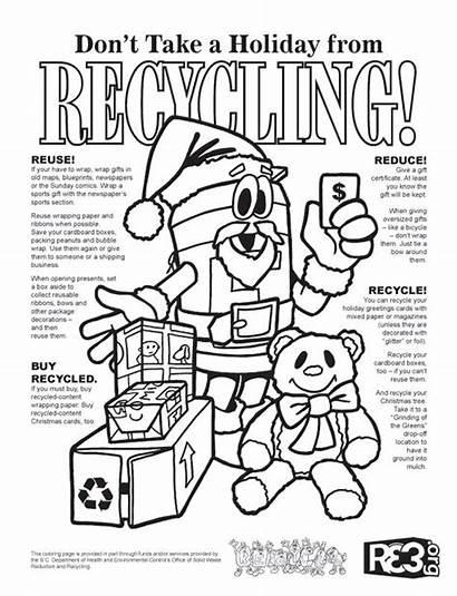 Science Coloring Recycle Printable Worksheet Coloringpagesgreat Printables