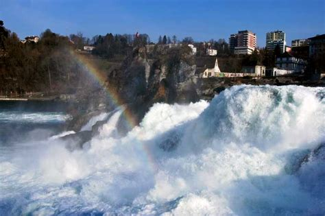 Boat Ride Rhine Falls Switzerland by Can You Believe That These Are Europe S Most Magical