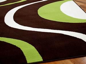 Teppich Braun Grün : teppich modern trendline braun gr n retro 4 gr en ebay ~ Whattoseeinmadrid.com Haus und Dekorationen