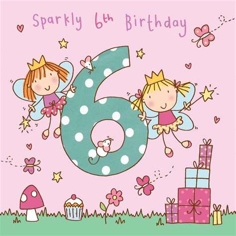 6 years old girl birthday quotes