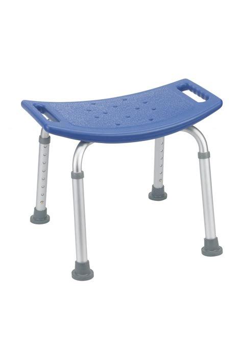 blue bathroom safety shower tub bench chair gba