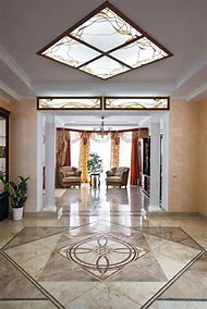 Victorian White Marble Floors