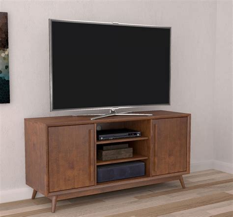 mahogany media stand 54 quot leawood mahogany cherry entertainment media tv stand 3967