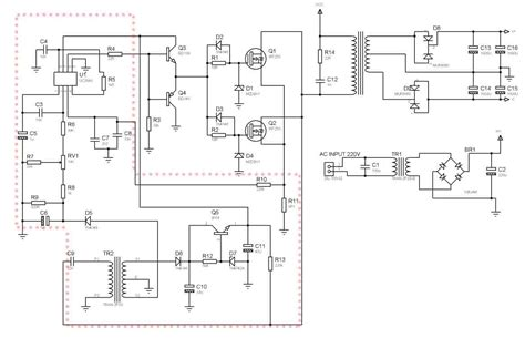 Smps Power Amplifier Using Mosfet Transistor