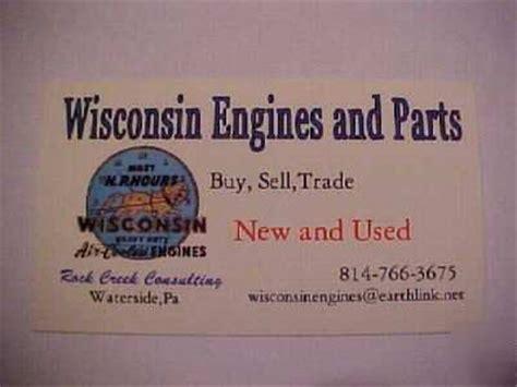 wisconsin engine piston rings vh4d w4 1770 vf4d 010