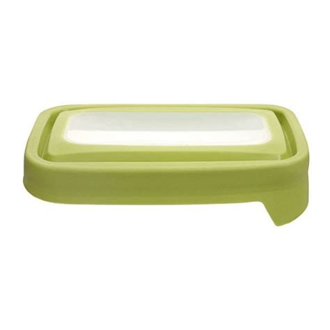 anchor hocking trueseal green lid for 1 7 8 cup storage rectangular set of 2 replacement lids