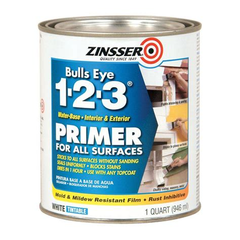 zinsser bulls eye     qt white water based interior