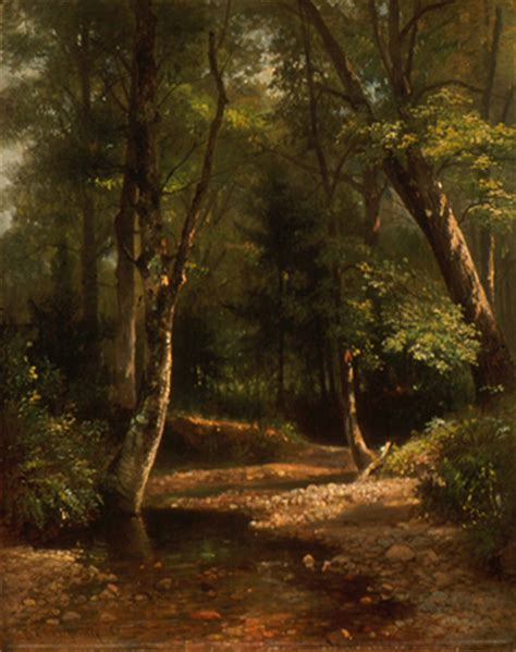 painting for home interior benjamin chney 1817 1907 woodland interior