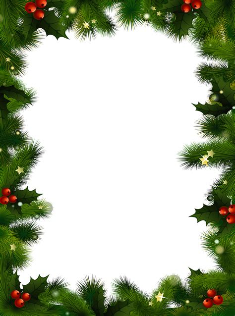 christmas clipart borders  word clipground
