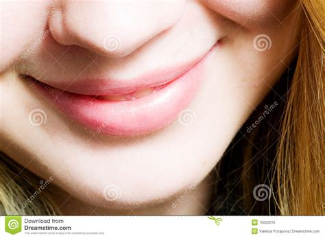 Smile Closeup Mouth Royalty Free Stock Image Image