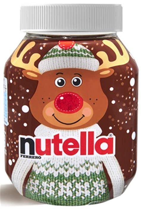 pot de nutella noel un no 235 l kitsch tendance et gourmand avec nutella