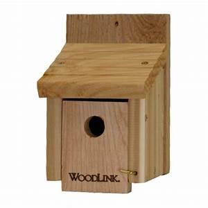 Woodlink Cedar Wren Bird House-WREN1 - The Home Depot