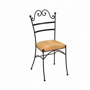 Chaise Fer Forgé : achat de chaises en fer forg 4 pieds ~ Teatrodelosmanantiales.com Idées de Décoration