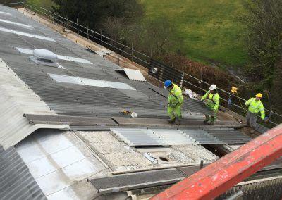 asbestos removal ridge roofing honiton devon