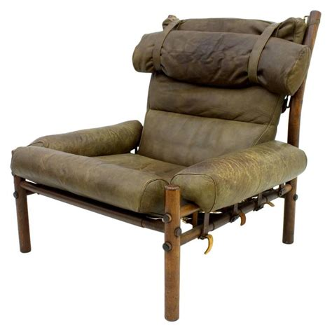 arne norell lounge chair quot inca quot rosewood and leather