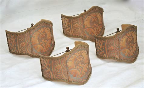 l shades for sale set four fortuny fabric quot orsini quot l shades for sale at