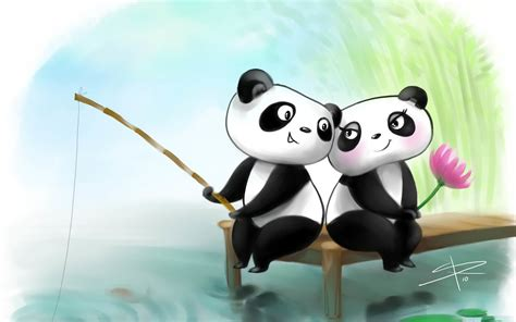 Anime Panda Wallpaper - anime panda wallpaper 64 images