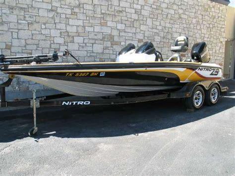 Used Nitro Bass Boats Texas by Used Bass Nitro Boats For Sale Boats