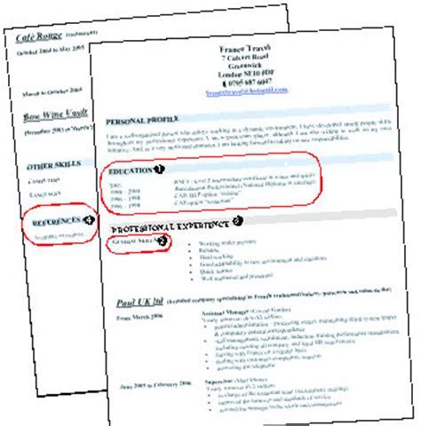 commis de bureau conseils pratiques pour rédiger cv en anglais suite