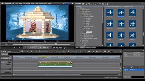 edius hd  indian effects youtube