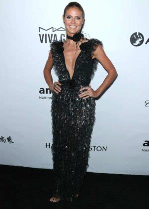 Heidi Klum Amfar Gala Los Angeles Beverly Hills
