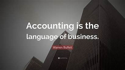Accounting Business Language Buffett Warren Wallpapers Quotes