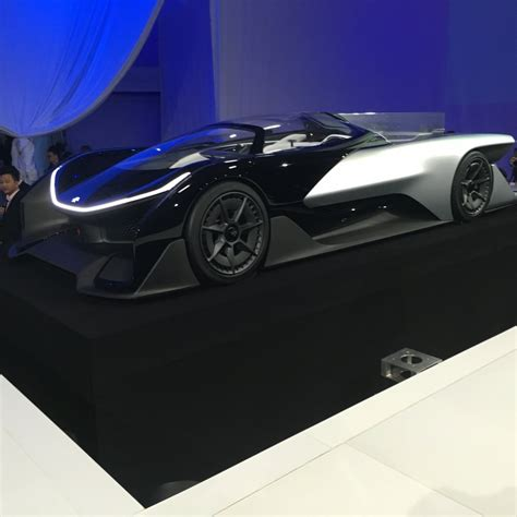 Faraday Future Unveils Electric Car At Ces  Business Insider