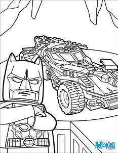 Lego Batman Batmobile Coloring Pages Hellokidscom