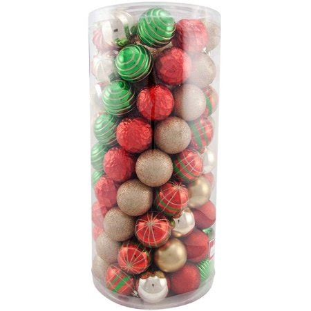 Holiday Time Traditional Shatterproof Christmas Ornaments