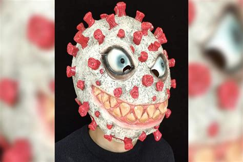 Creepy COVID-19 Halloween masks are for sale on Amazon