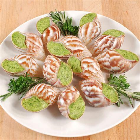 cuisine escargot escargot achatine a la bourguignonne frozen by terroirs