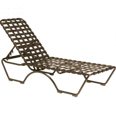 chaise transparent kahana cross chaise lounge 553