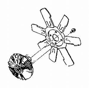Dodge Ram 2500 Engine Cooling Fan Clutch  Radiator