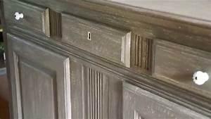 Technique De Patine : comment patiner un meuble un buffet patin relook s dans ~ Mglfilm.com Idées de Décoration