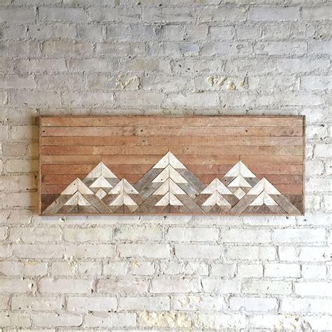 Reclaimed Wood Wall Art Wall Decor Twin Headboard Lath
