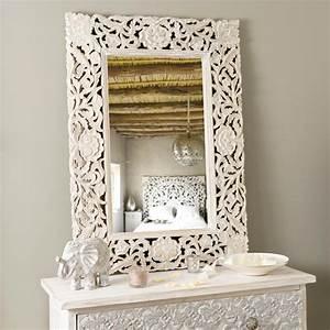 Miroir Fenetre Maison Du Monde : miroir adhika blanchi maisons du monde ~ Teatrodelosmanantiales.com Idées de Décoration